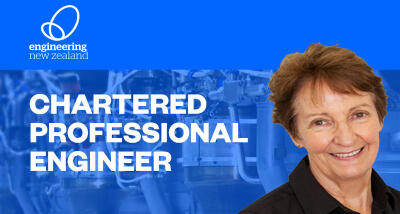 Janet Jackson is now a Chartered Professional Engineer (CPEng)