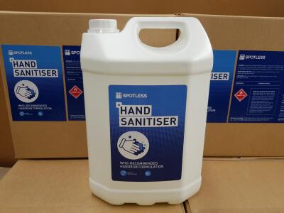 Hand sanitiser - providing a vital product in a time of crisis